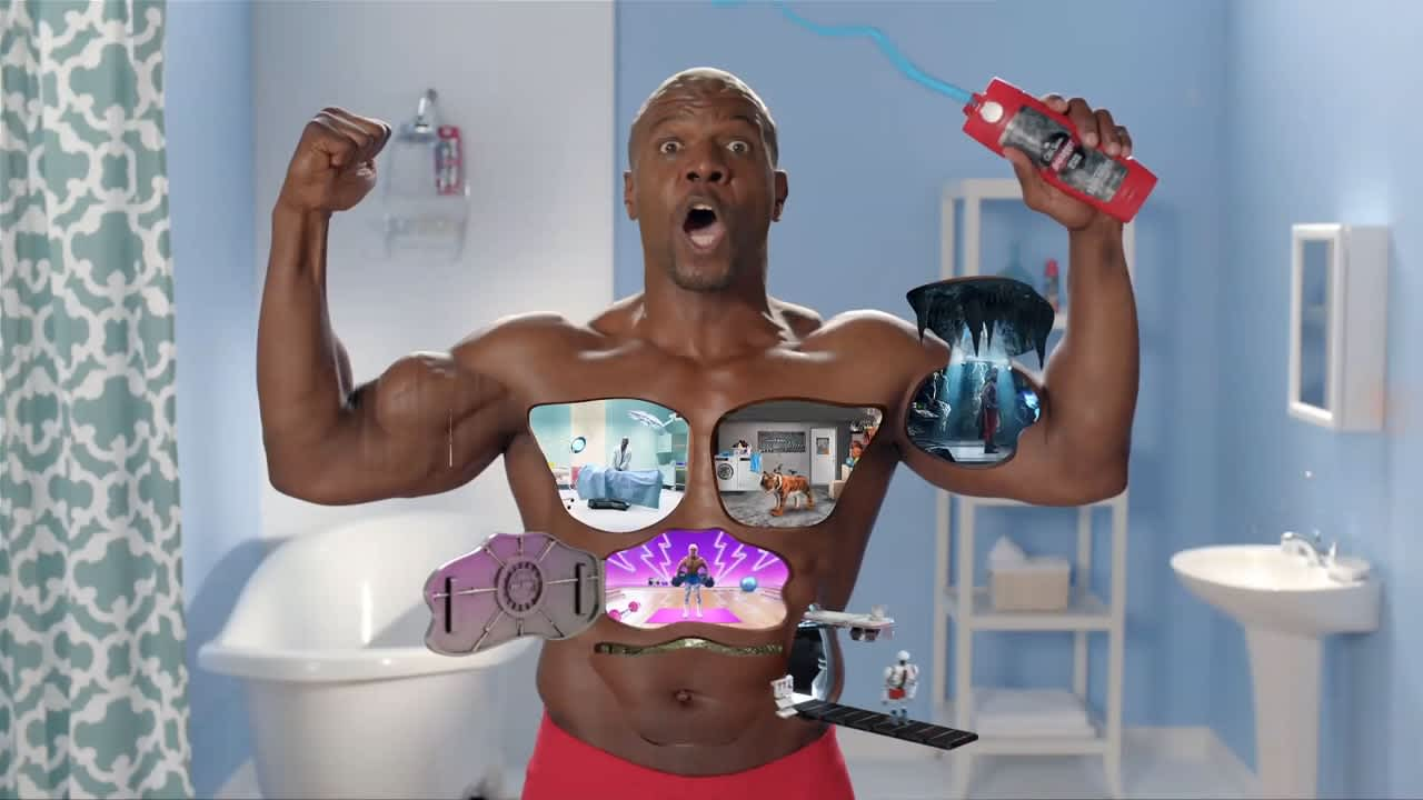 Old Spice Muscle Surprise