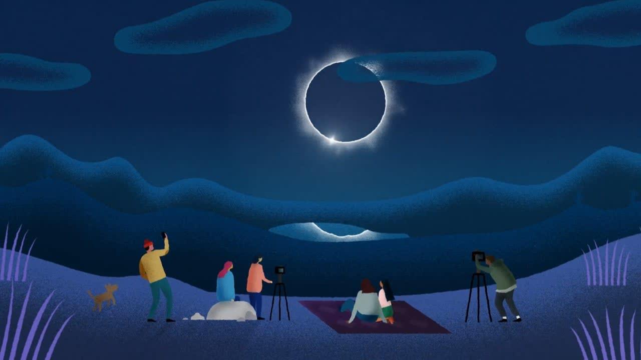 Google - Eclipse Megamovie
