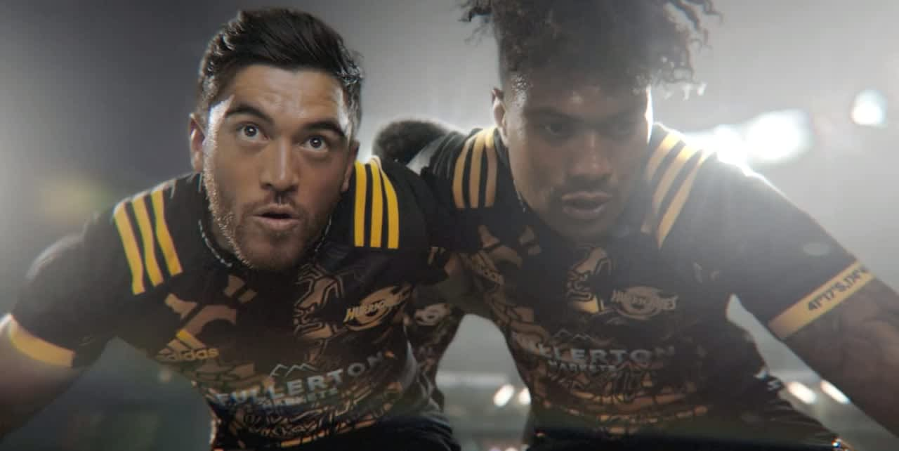 Adidas | Attack the Attack | All Blacks Lions Tour Jersey.
