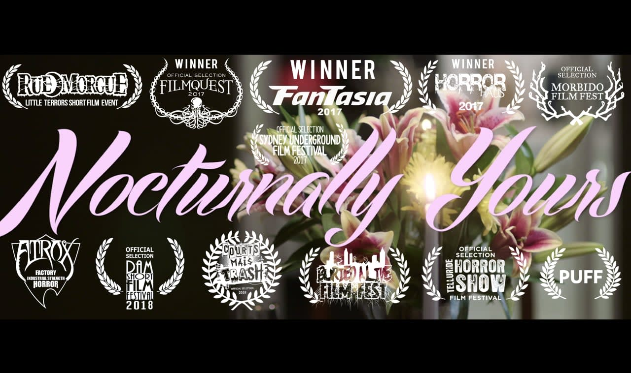 Nocturnally Yours - short film trailer