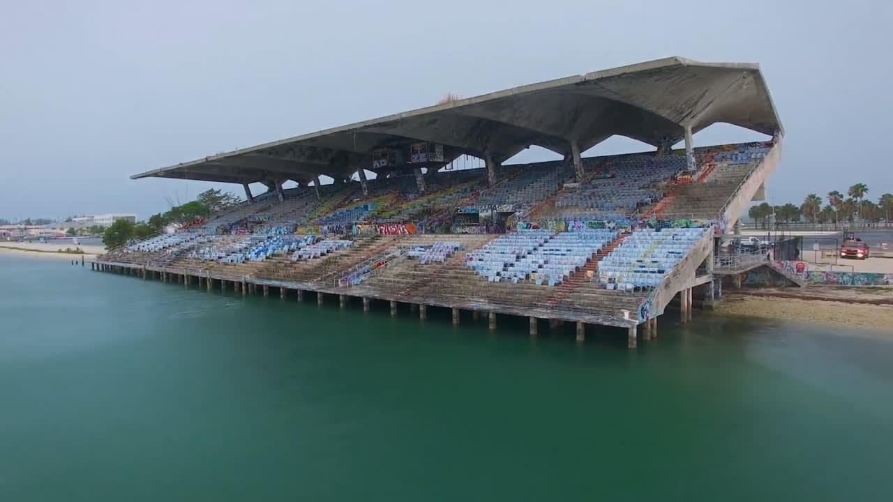 The Miami Marine Stadium