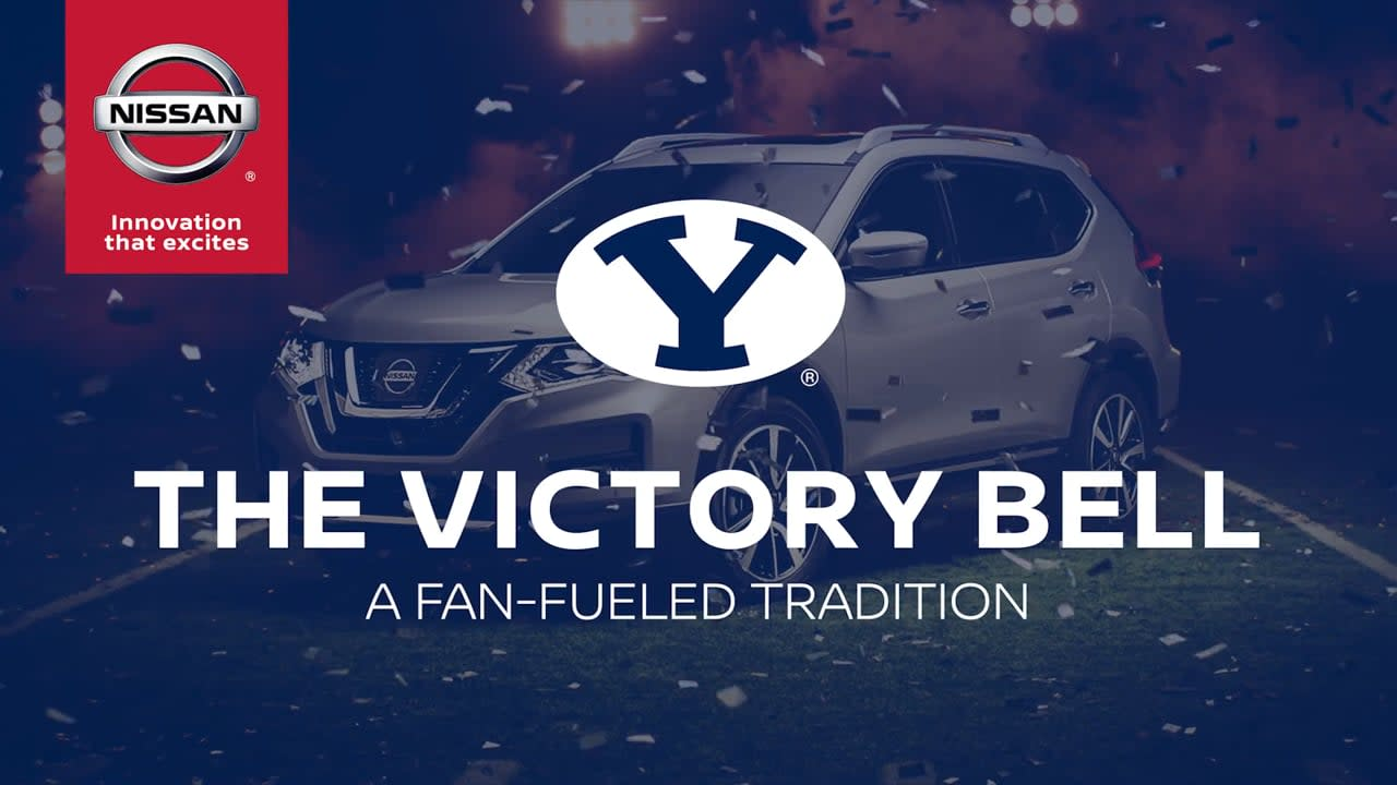 BYU's Victory Bell: A Fan-Fueled Tradition // Nissan