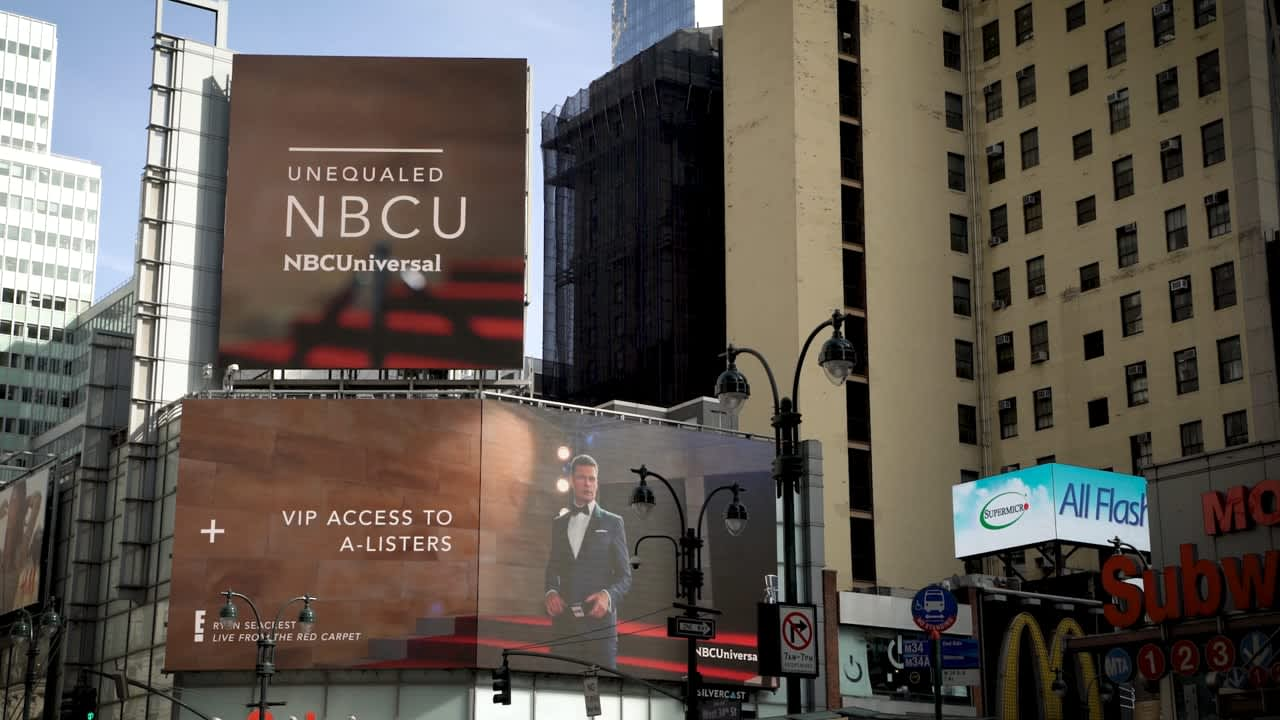 NBC Out-of-Home Brand & Upfronts Campaign