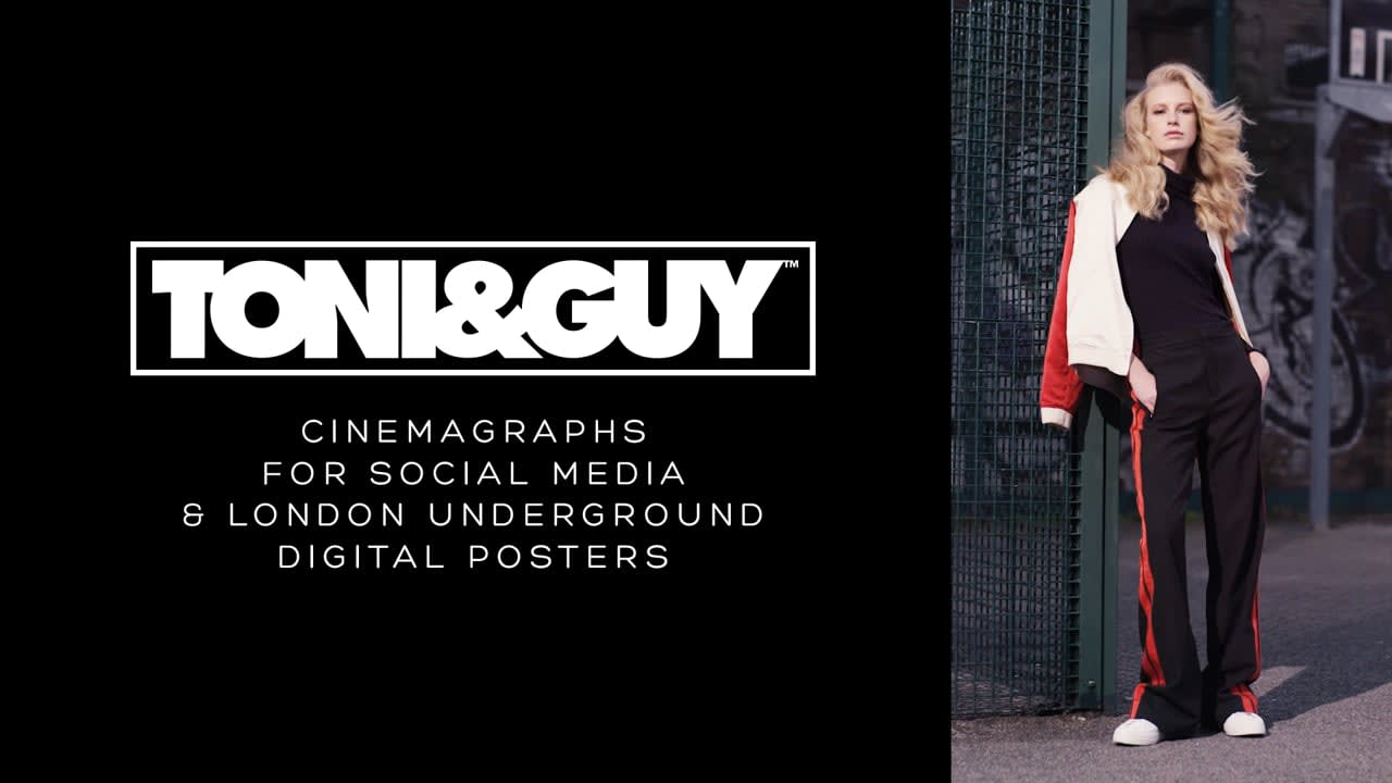 Toni & Guy Cinemagraphs