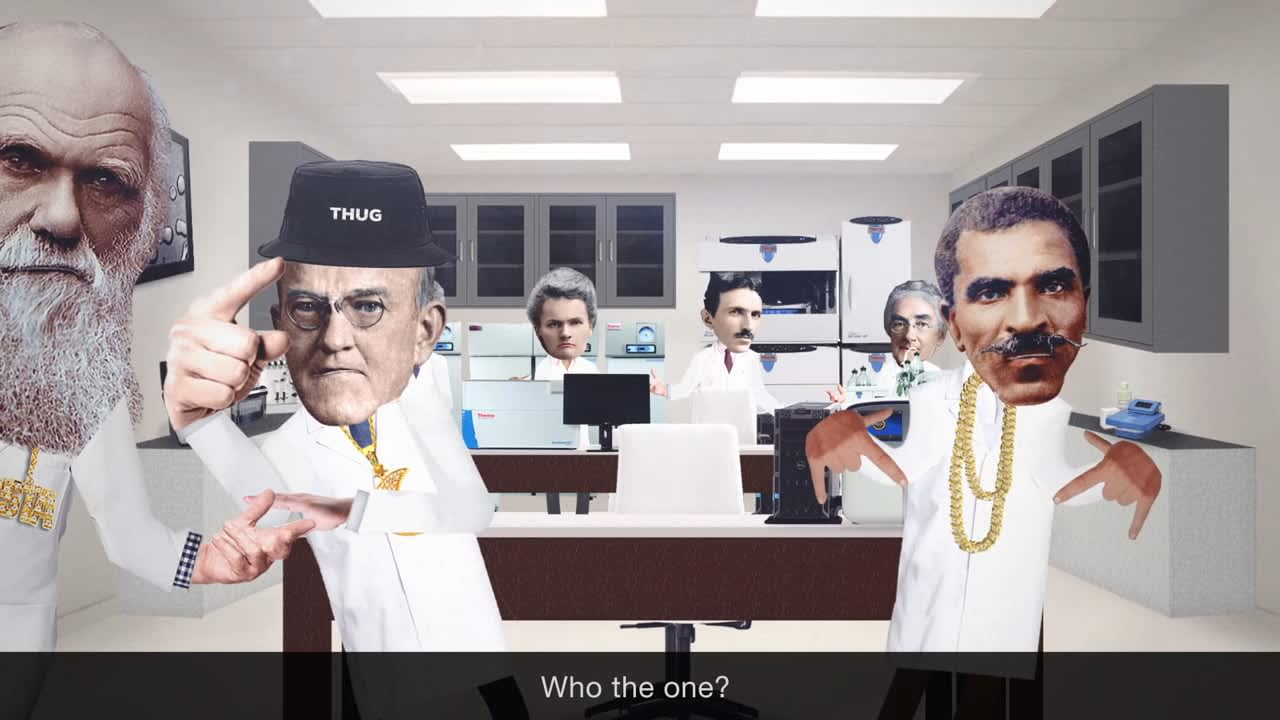 Jib Jab Style animated video for Biotechnology brand (with subs)