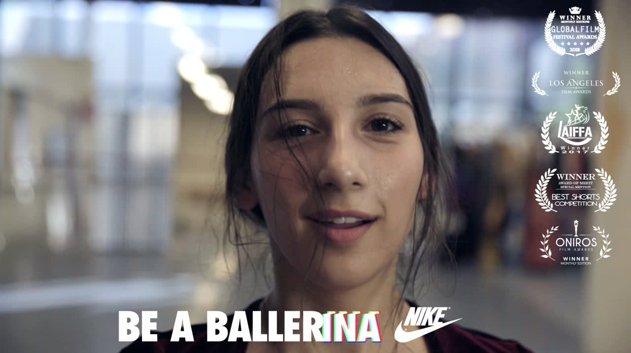 "NIKE - ""Be A BALLERina"""