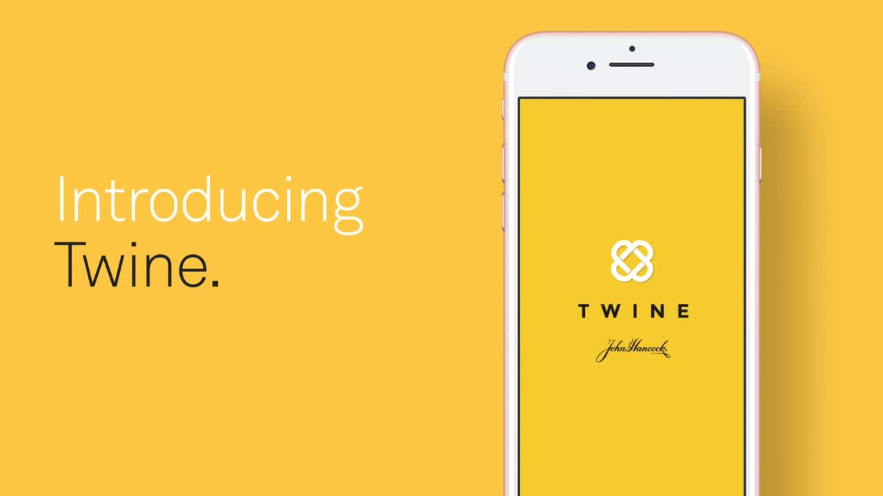 Twine app from John Hancock