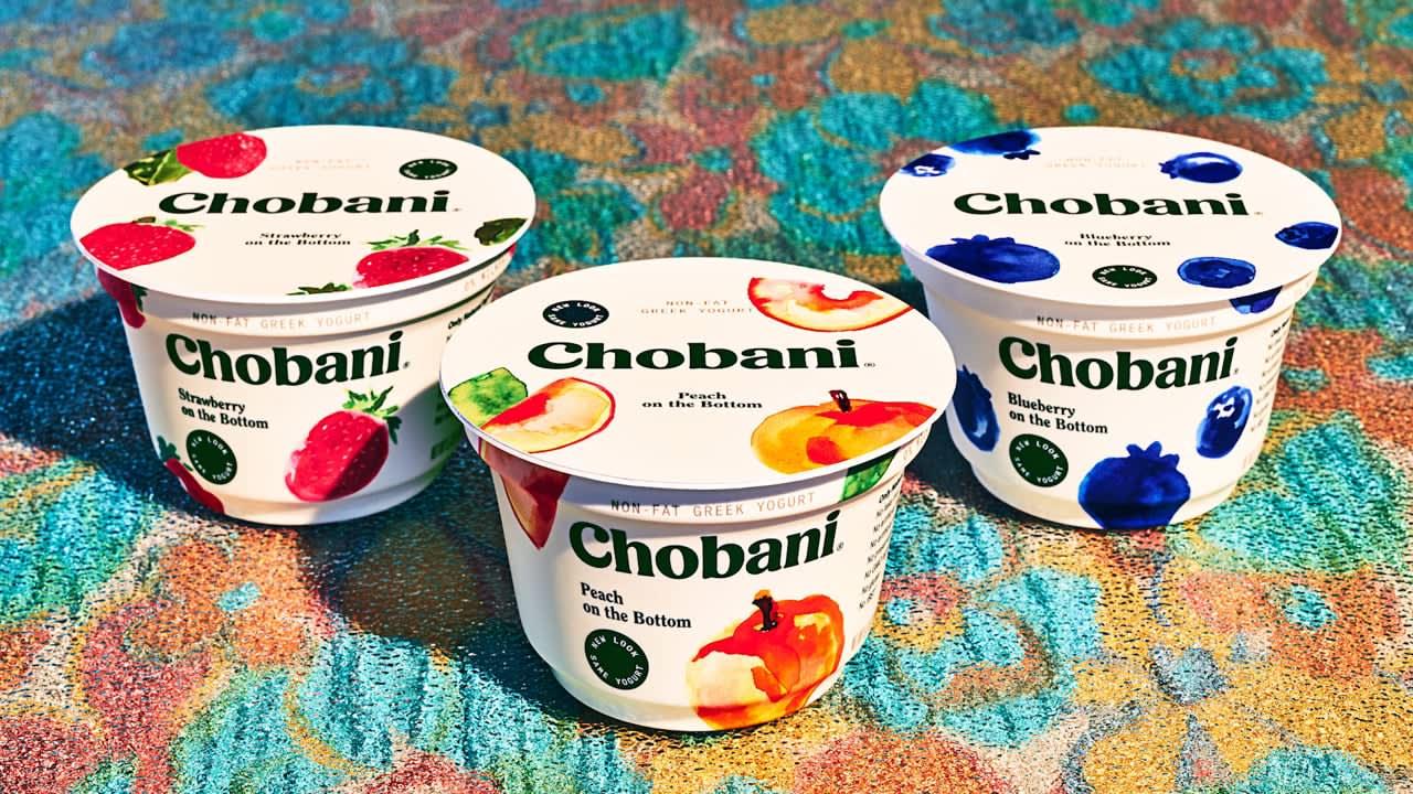 """Chobani: New Look, Same Yogurt"""