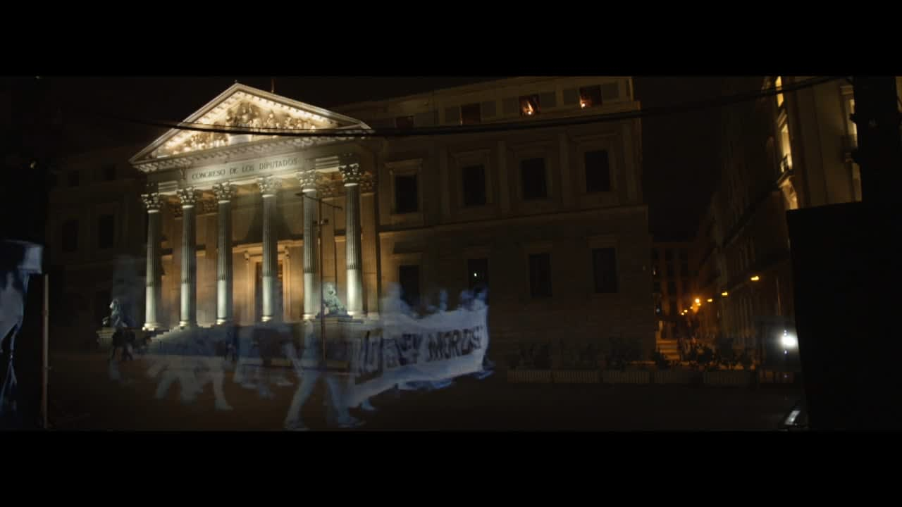 Holograms for Freedom / We are not crime