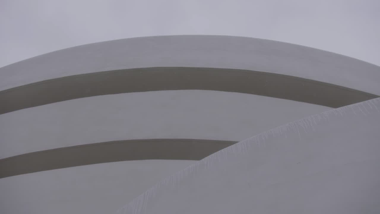 COS x Agnes Martin at the Guggenheim, New York