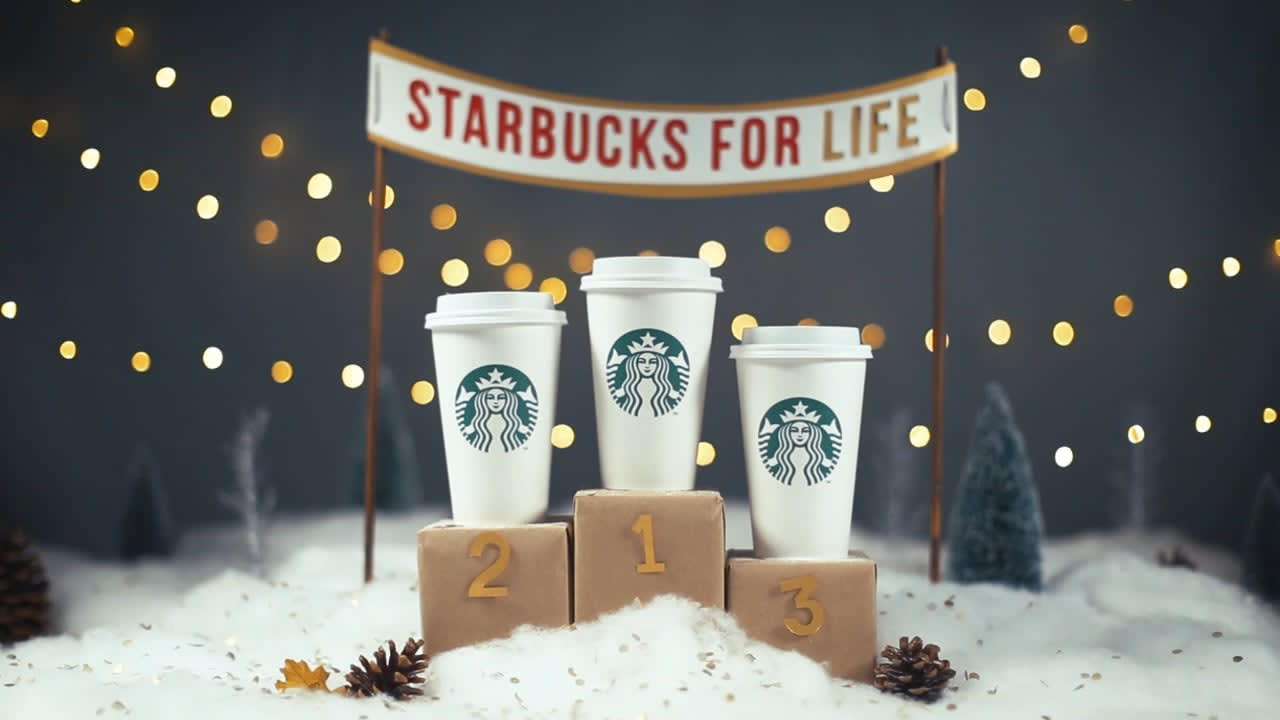 Starbucks For Life social promotion