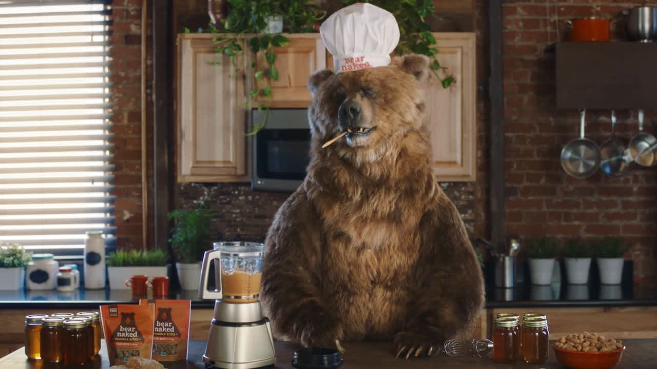 "Bear Naked Granola ""Beehive"""