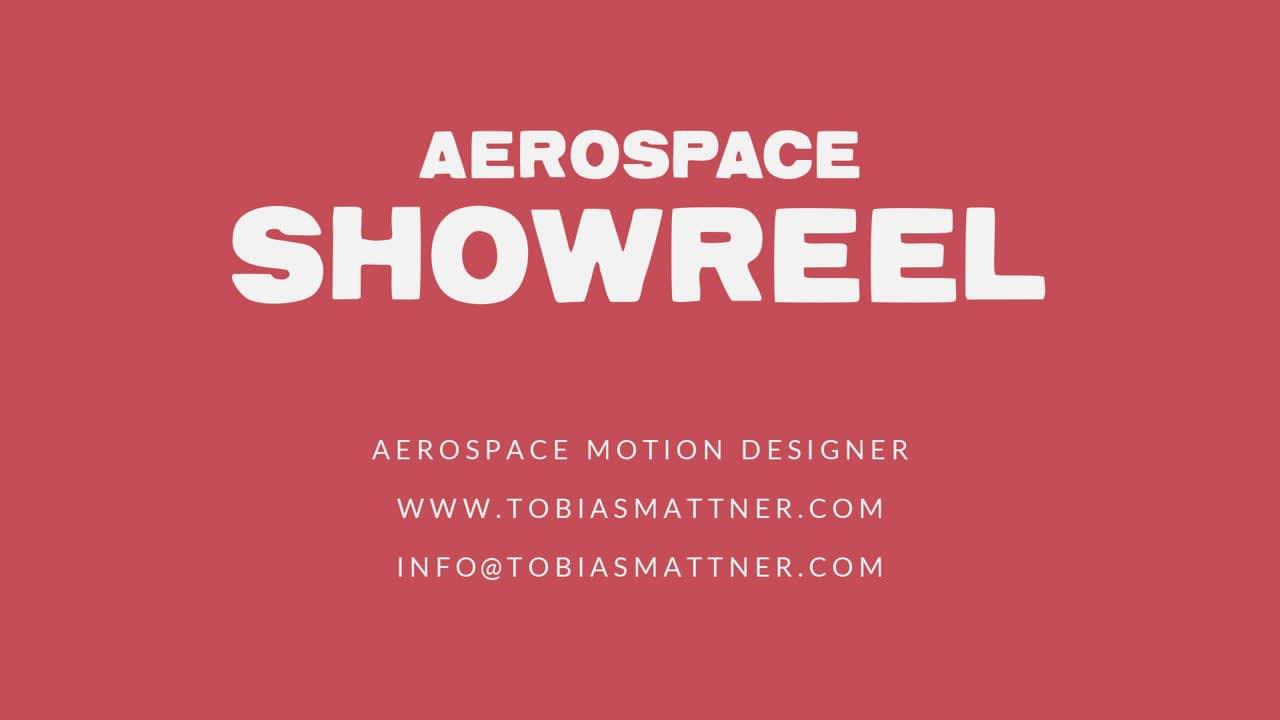 Aerospace Showreel