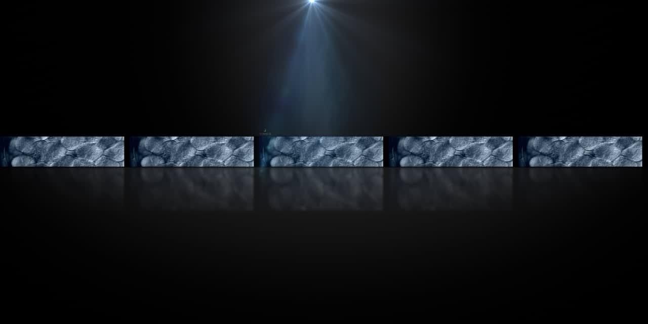 Infiniti 5 Screen Car Launch