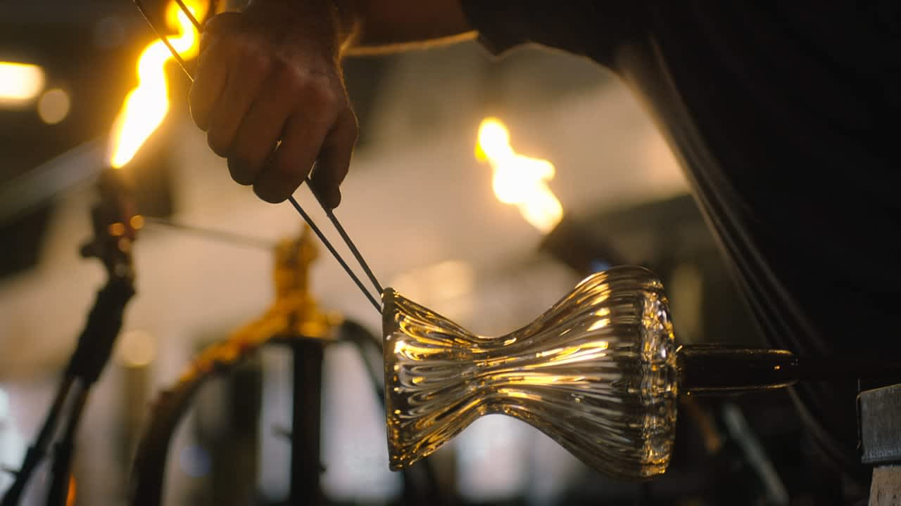 Lavazza + Food & Wine: The Glassblower