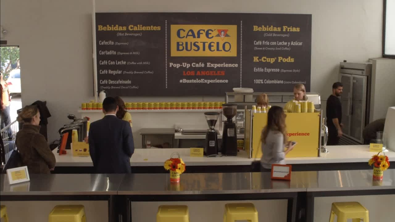 Cafe Bustelo Pop Up & Music Festival Campaign