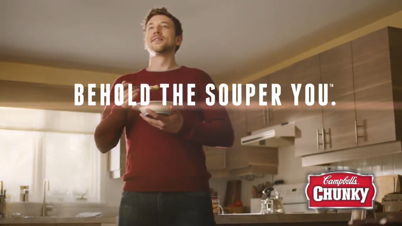 """Behold the Souper You"" Chunky Soups 360 Campaign"