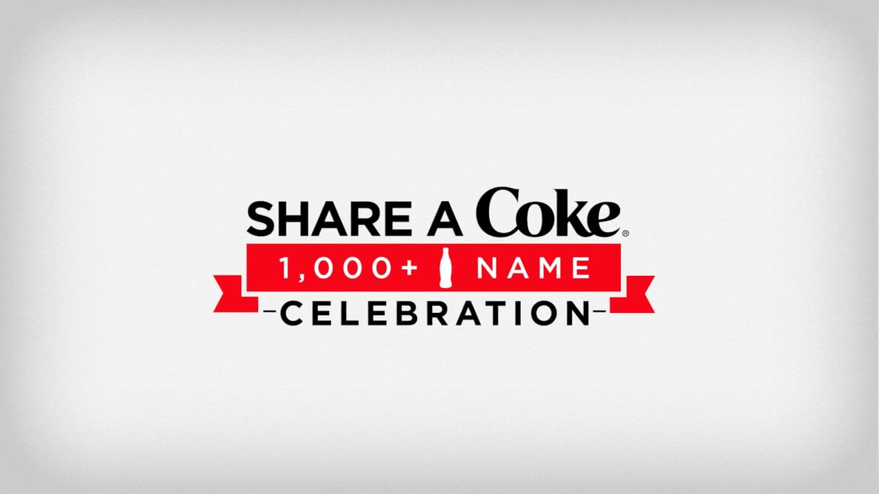 Share A Coke 1,000 Song Celebration