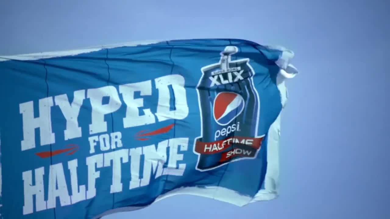 Pepsi Super Bowl Halftime Content