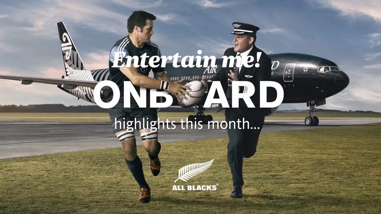 Air New Zealand #CrazyAboutRugby