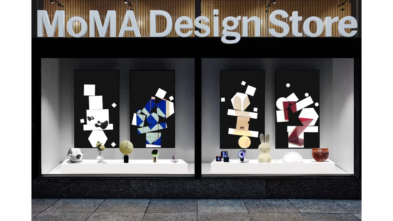 MoMA Design Store Window Display