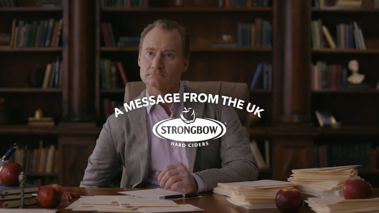 MESSAGE FROM THE UK