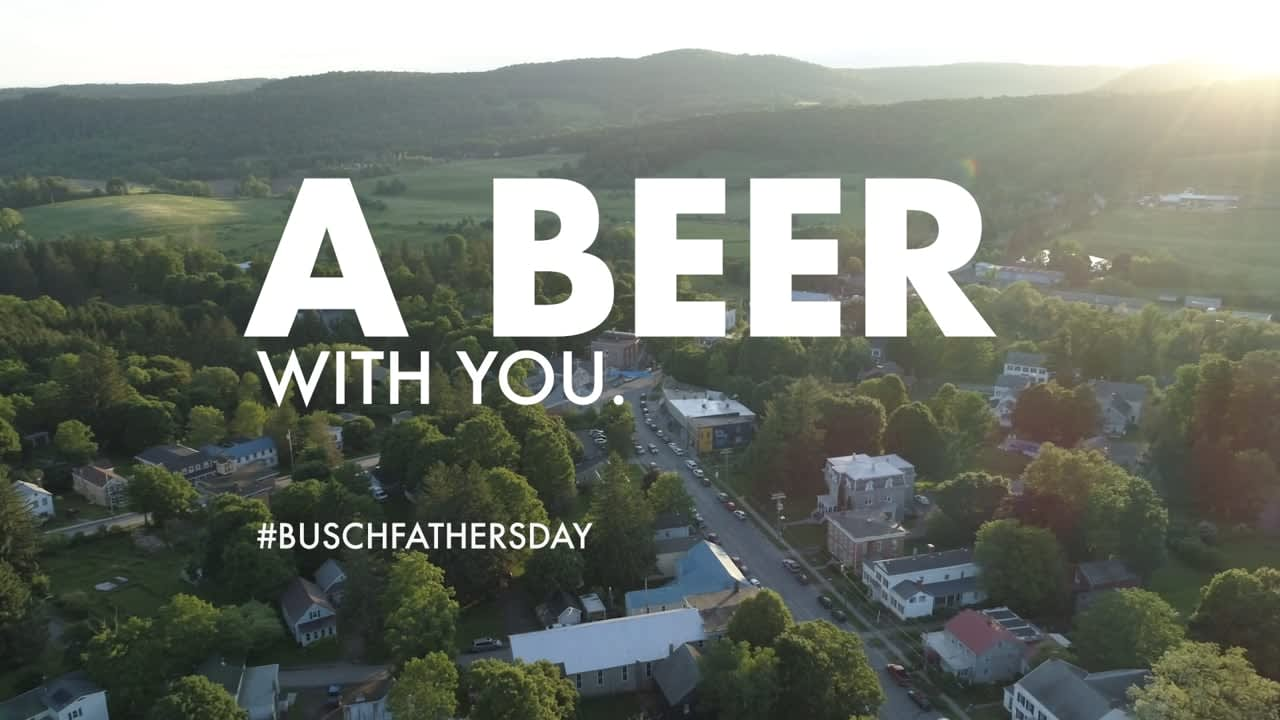 Busch Beer - Father's Day