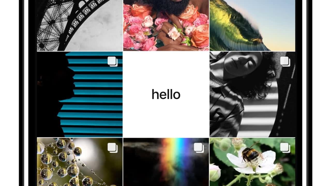 Launching @apple Instagram