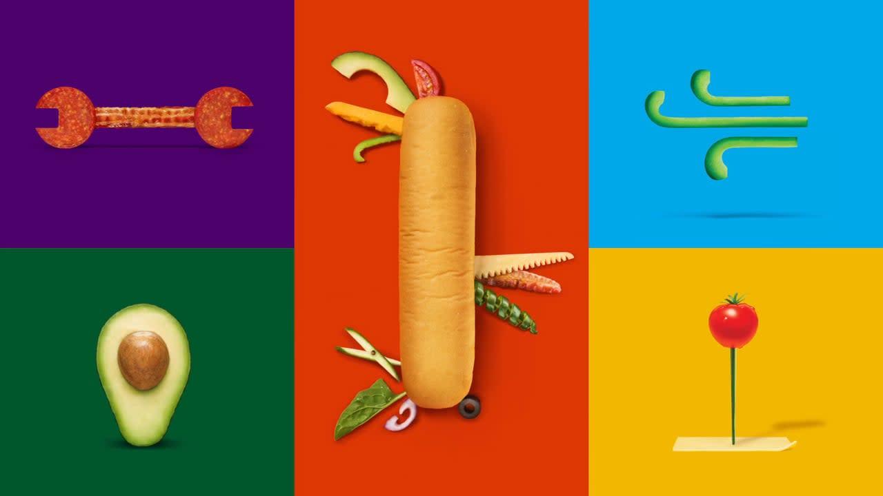 Subway re-brand case study video