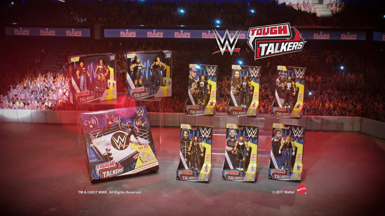 WWE Tough Talkers TVC