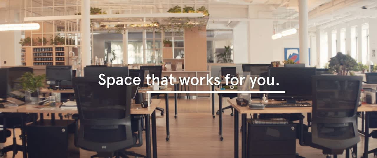 WeWork : Space That Works For You