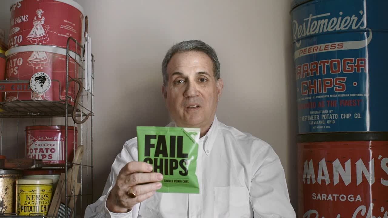 """MailChimp Presents """"Born from Failure: The World's Tastiest Mistake"""""""
