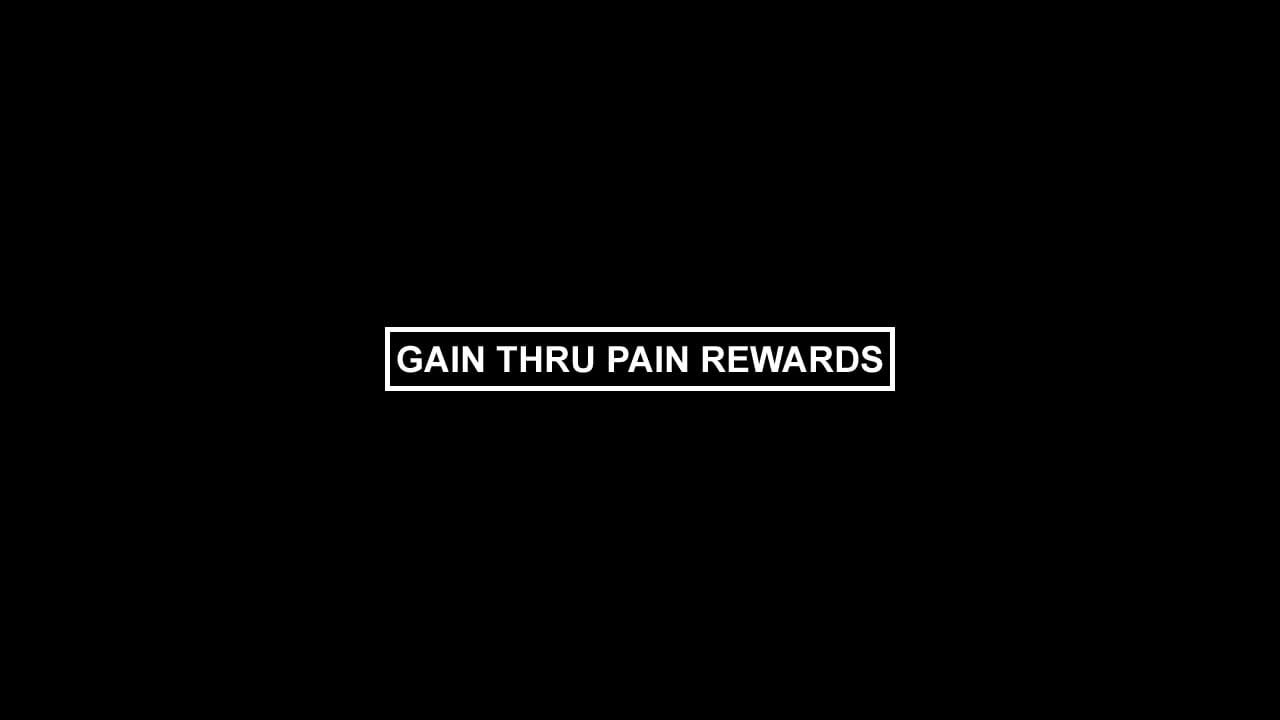 "Plan B Skateboards ""Gain Thru Pain Rewards"""