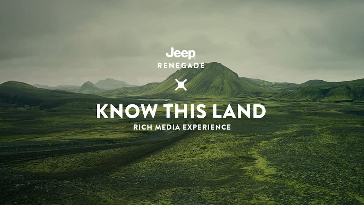 Jeep Renegade Super Bowl Launch