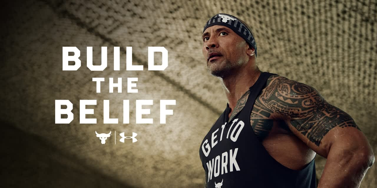 Under Armour x The Rock