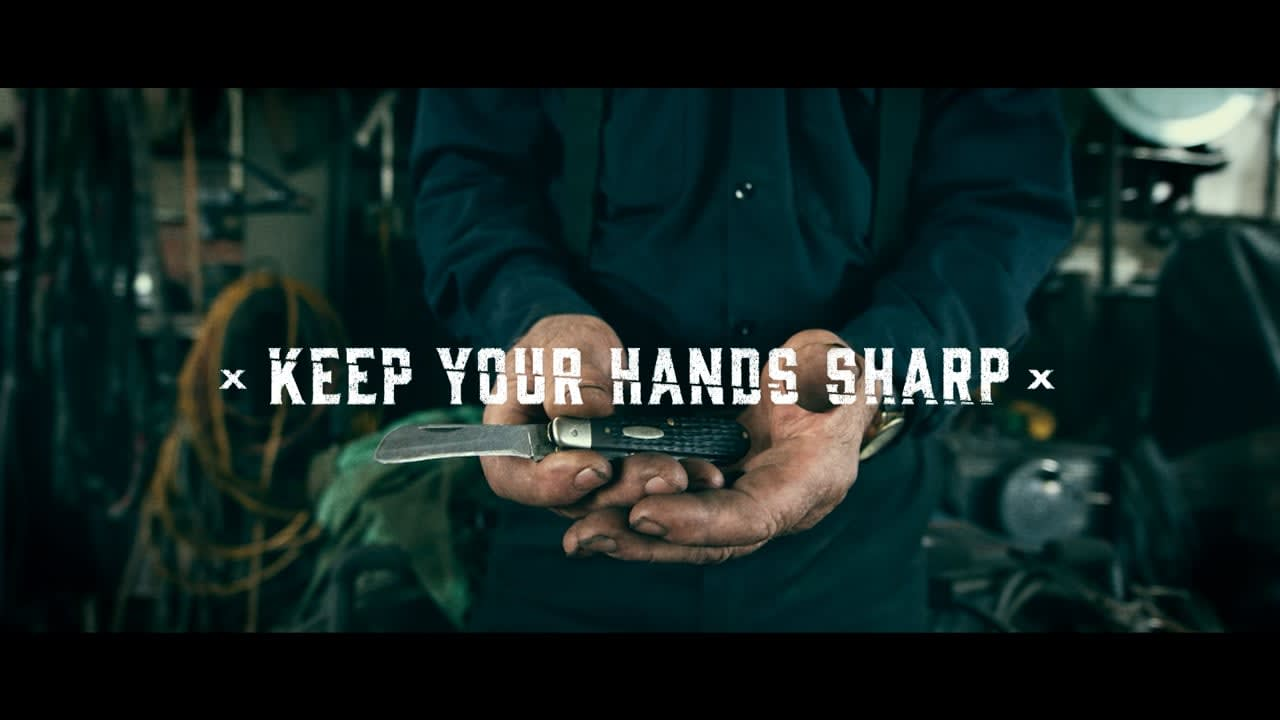 Case Knives   Keep Your Hands Sharp Brand Campaign
