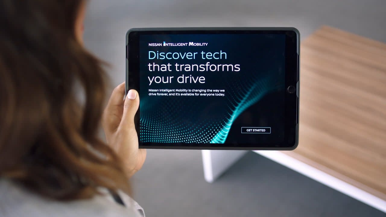 Nissan Intelligent Mobility Augmented Reality App