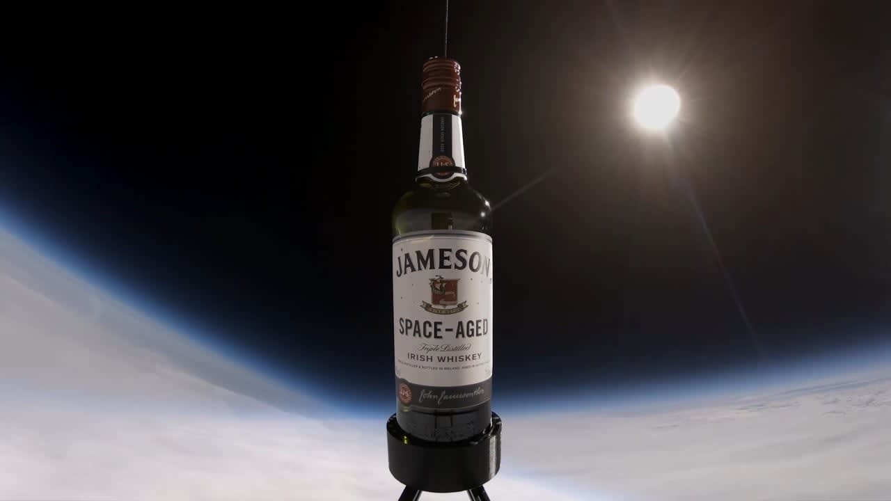 Jameson Space-Aged