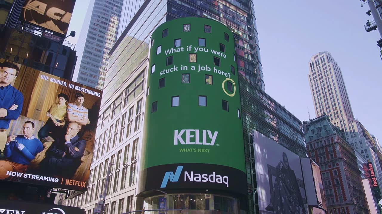 Kelly Services - Times Square