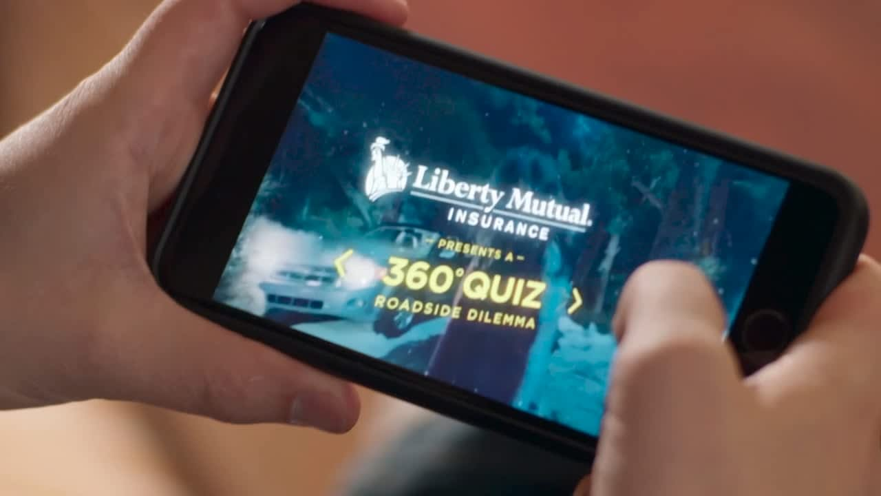 Liberty Mutual. World's first choose your own adventure Facebook 360 video