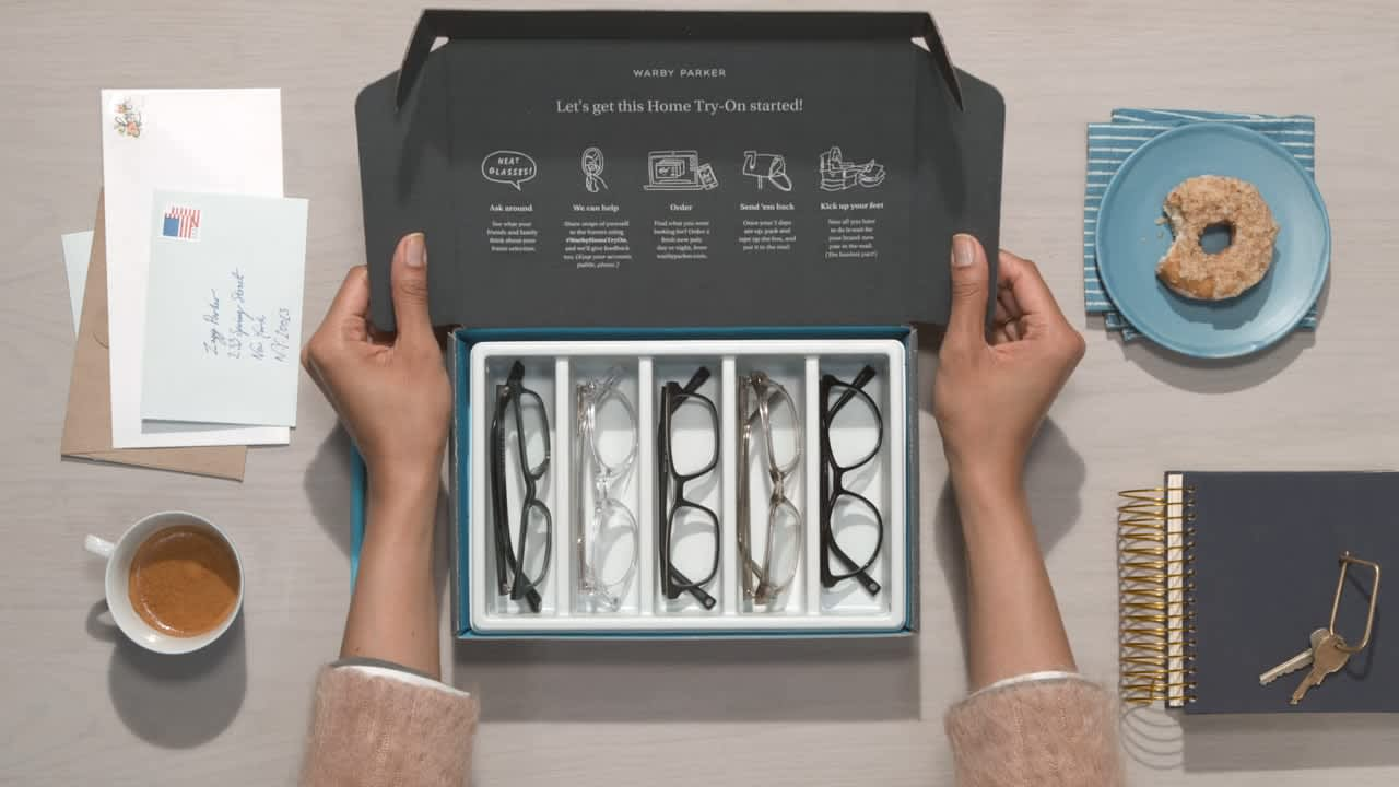 "Warby Parker - ""Design Your Eyewear for Less"""