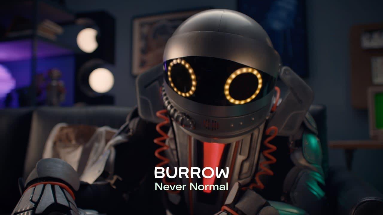 Burrow #NeverNormal