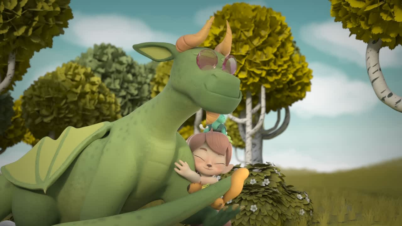 Clover and The Dragon