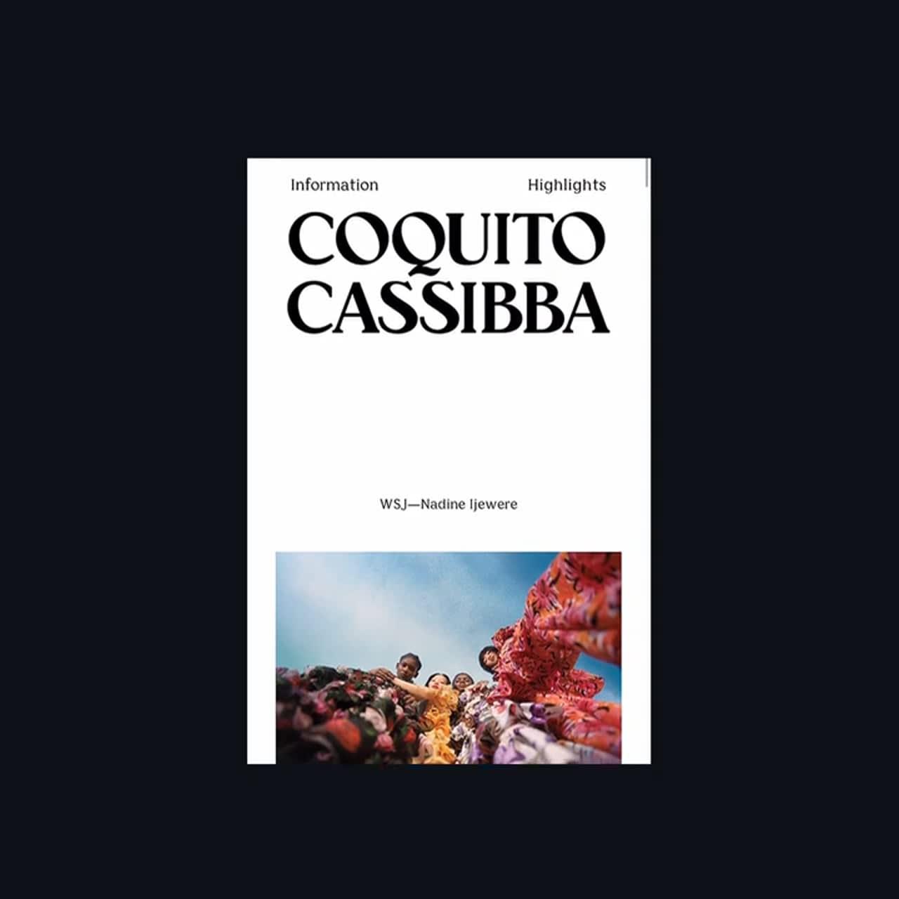 Coquito Cassibba