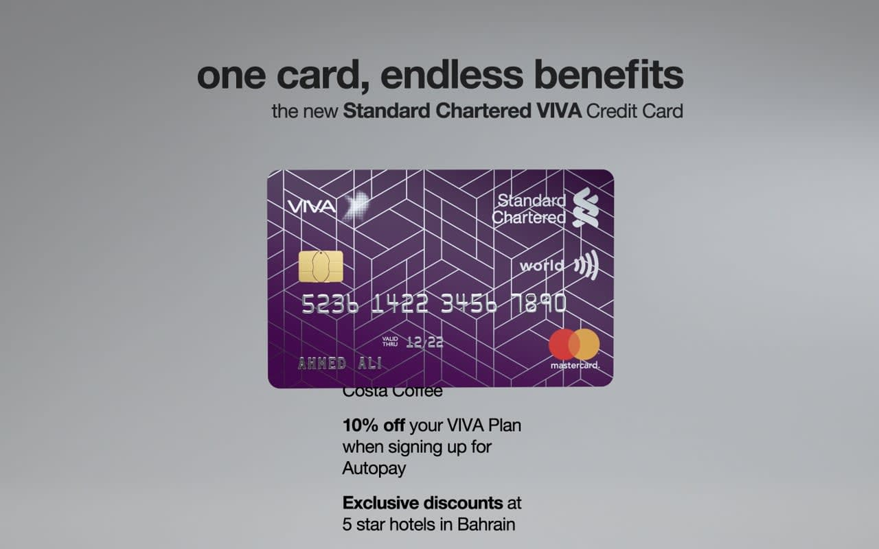 Standard Chartered VIVA Credit Card
