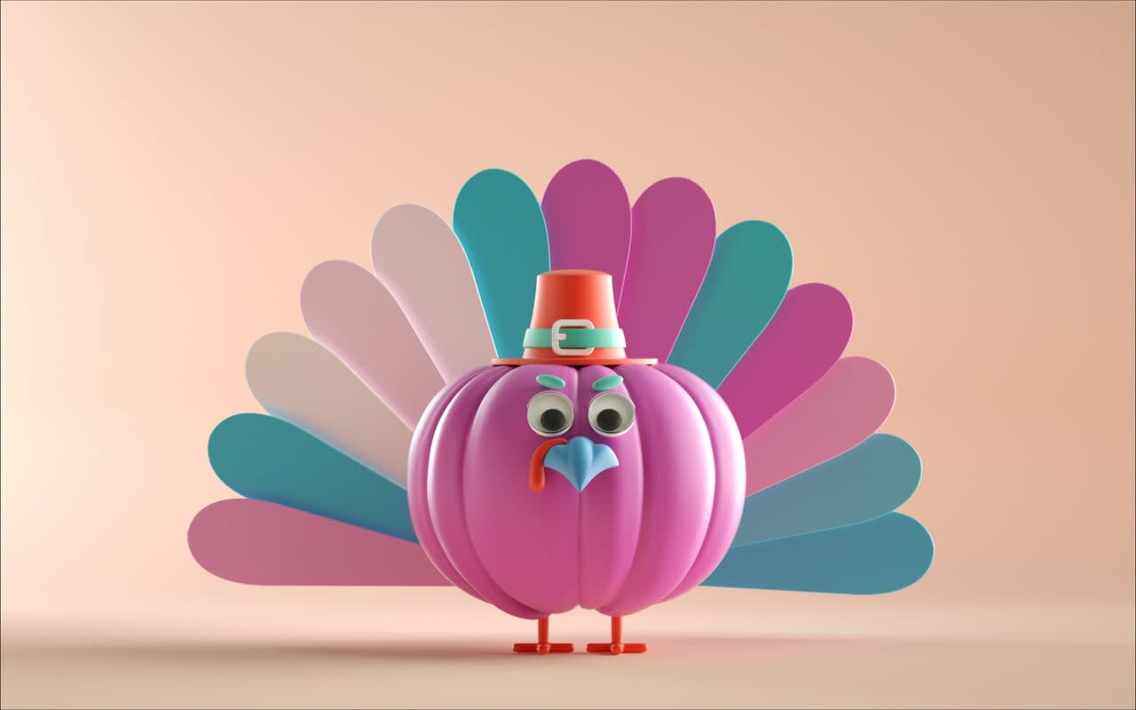 Thanksgiving animated post