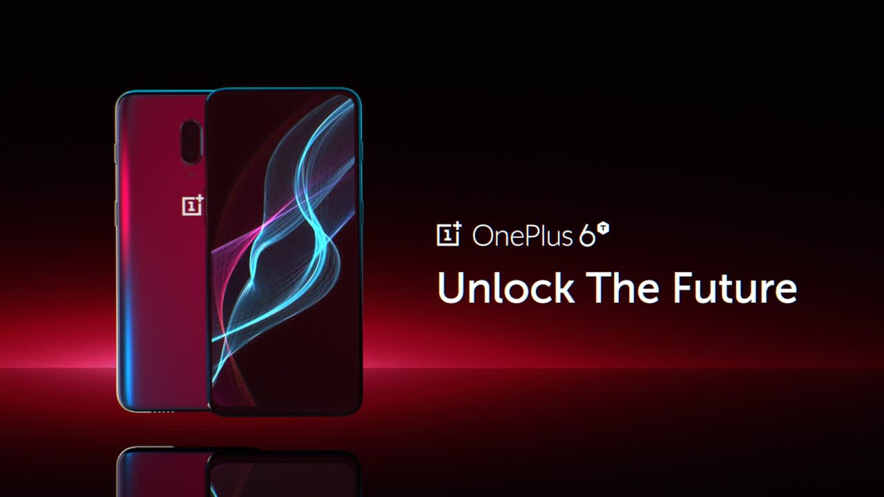 OnePlus 6T Unlock the Future
