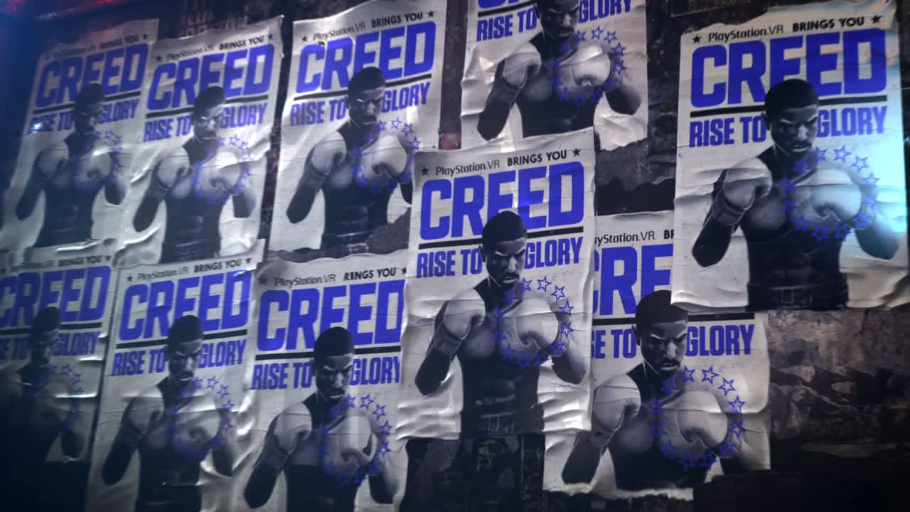PlayStation VR: Creed Rise to Glory