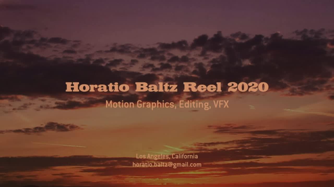2020 Motion Graphics Reel