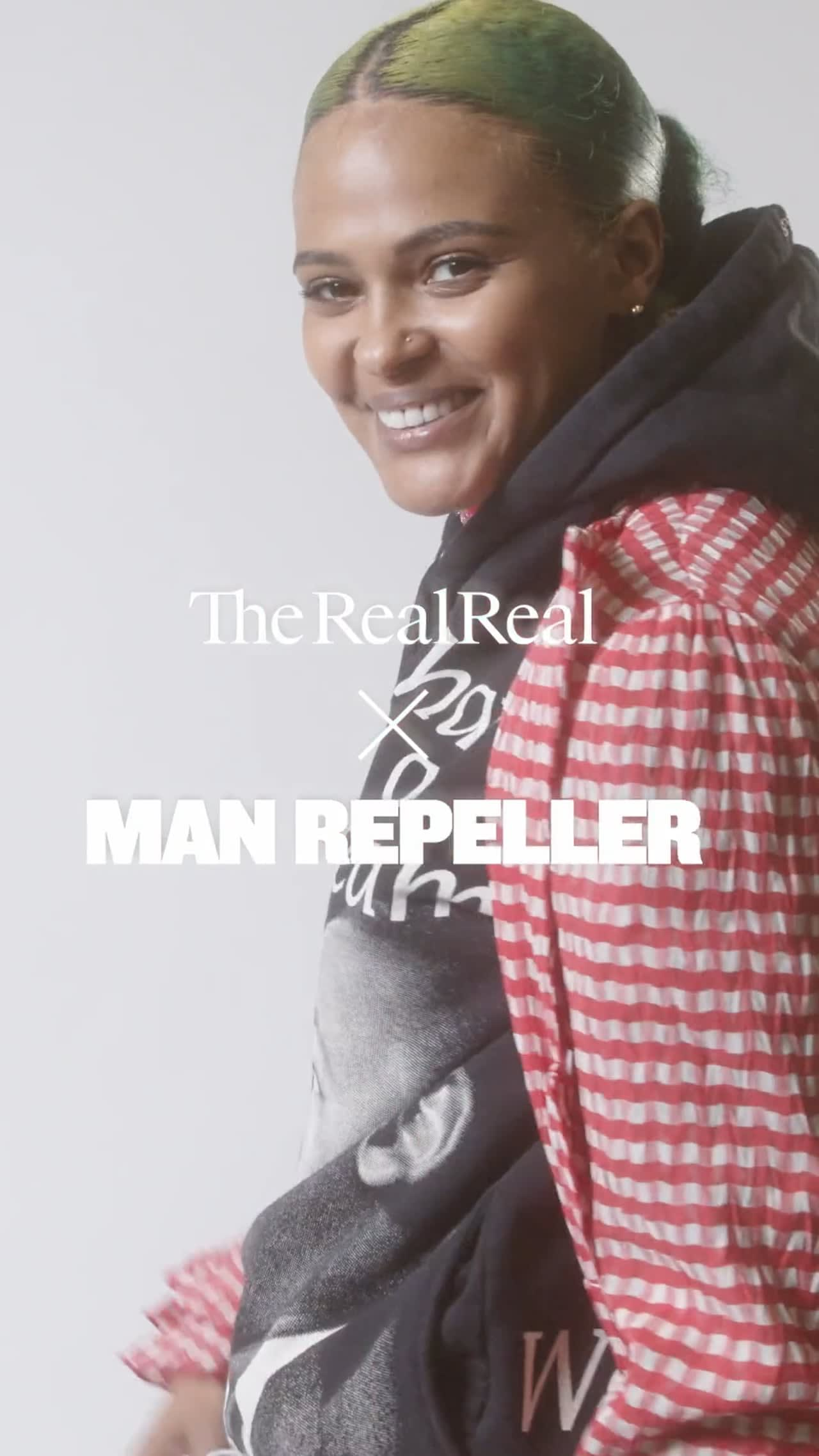The Real Real x Man Repellar